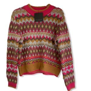 Andrew Marc colorful sweater NWT